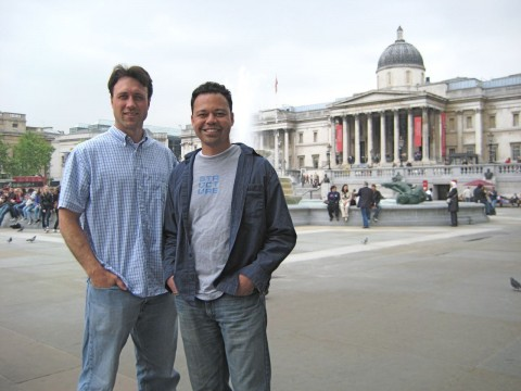 Clayton and Me in London